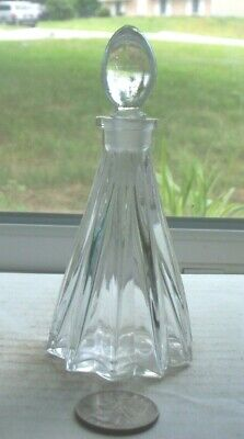 Vintage  Fancy Shaped Perfume With Working Stopper