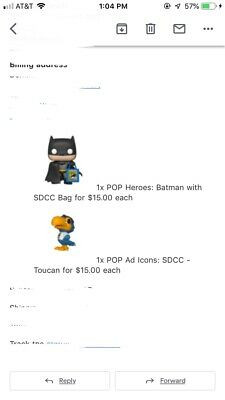 Funko Pop! Ad Icons Toucan Funko Shop Exclusive SDCC 2019 Shared Confirmed Order
