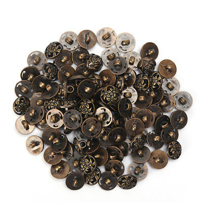 100pcs Mix Shank DIY Sewing Buttons 12.5mm Jacket Coat Buttons Craft Diy 、 qr TS