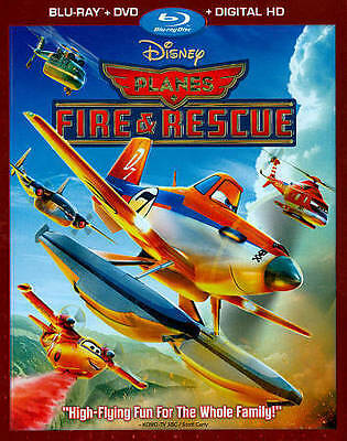 Disney PLANES Fire and Rescue BLU-RAY + DVD + DIGITAL HD COPY NEW SEALED