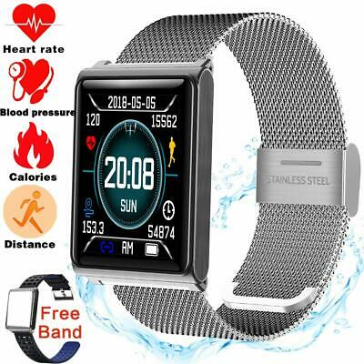 Smart Watch Waterproof Fitness Tracker for Men Women Blood Pressure Watch Outdoo