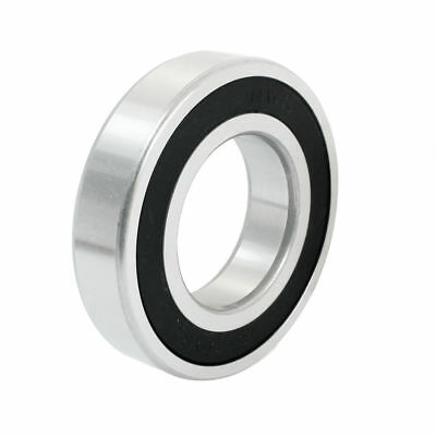 H● 45mm x 85mm x 19mm Chrome Steel Sealed Deep Groove Ball Bearing 6209-2RS.