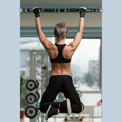 Chin Up Pull Up Gym Exercise Bar Training Fitness Home Bodybuilding HK664