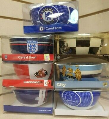 Official Football Club (various Clubs) Cereal Bowl Dad Son Birthday Christmas