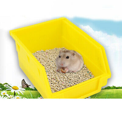 Large Pet Toilet Litter Tray for Small Animal Hamster Guinea Pig