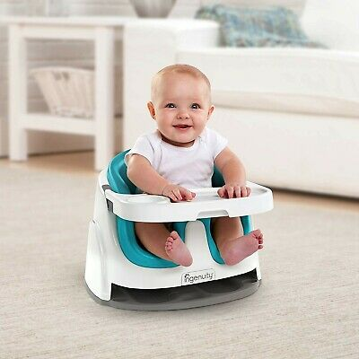 Ingenuity: Baby Base 2-in-1 Seat - Ultramarine Green