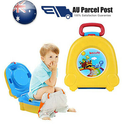 Kids Toilet Seat Baby Child Toddler Training Potty Portable Car Travel Seats AU