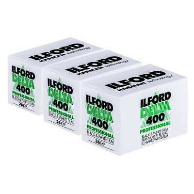 Ilford Delta 400 Professional 35MM Film - 36 exposures pack of 3