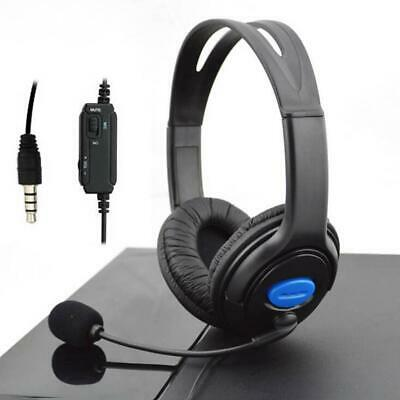 New Wired Gaming Headsets Headphones Earphones w/ Mic for PS4 Sony PlayStation 4