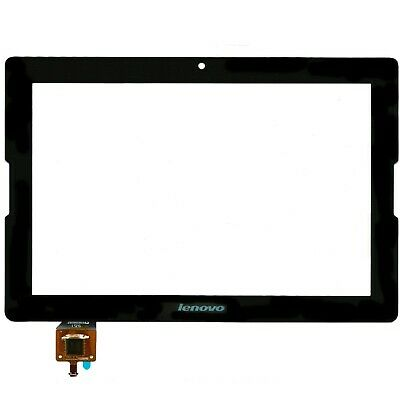 """Replacement Lenovo A10-70 A7600F 10.1"""" Tablet Touch Screen Glass Digitizer Black"""