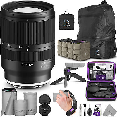 Tamron 17-28mm f/2.8 Di III RXD Lens for Sony E with Bundle