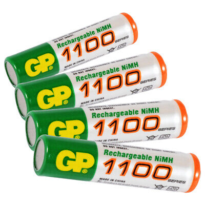 4x 1.2V AAA Rechargeable Batteries 1100mA Charging Ni-MH Battery With Box BC890