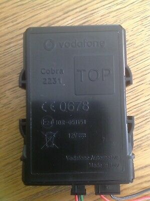 Genuine Vodafone Cobra 2231 Tracker Blackbox including 106x event recorder