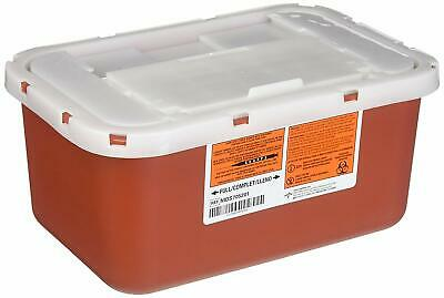 Biohazard Multipurpose Sharps Containers, Case Of 32 *Distressed