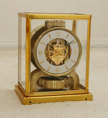Jaeger LeCoultre Atmos Clock, Model 526-5, Cleaned, Serviced, Timed, Runs Great