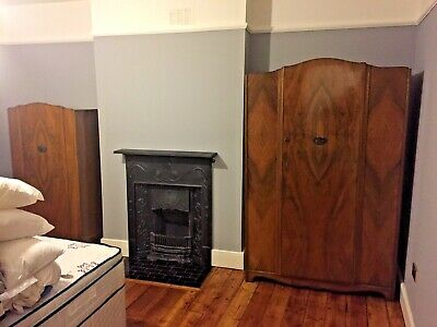 1950s Period Bedroom Furniture - His & Hers Wardrobes