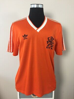 Original Holland Home Football Shirt Jersey 1985-1988 (L)