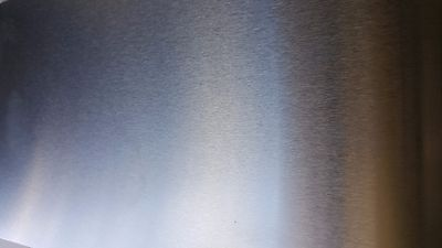 """18 Gauge Stainless Steel #4 Brushed 304 Sheet Plate 6"""" x 12"""""""