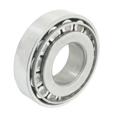 H● 35mm x 80mm x 21mm Taper Roller Pinion Bearing Silver Gray 30307.