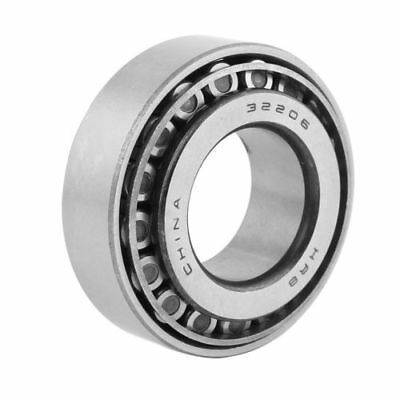 H● 30mm x 62mm x 21mm Metal Tapered Roller Bearing Silver Tone.