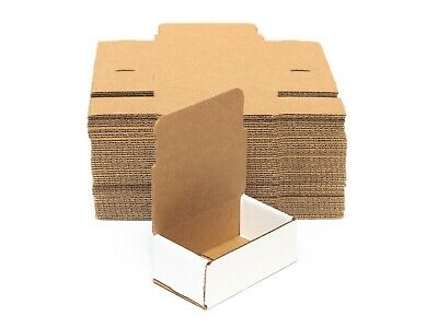HRX Packaging White Corrugated Mailers Shipping Packing Storage Assorted Sizes