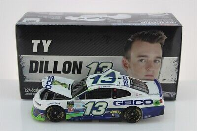 2019 TY DILLON #13 GEICO 1:24 505 Made In Stock Free Shipping