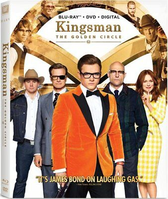 KINGSMAN 2: THE GOLDEN CIRCLE  (Blu-ray/DVD, 2017, Digital HD Copy)