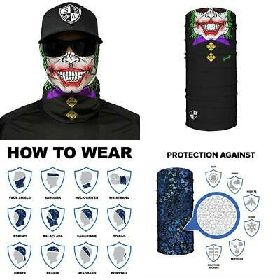 Designs to Choose From ** Quality Multi-Functiona SA Fishing Face Shields ** 40