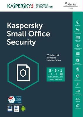 Kaspersky Small Office Security | 5+5+1 | 1 Jahr Schutz Download/ESD