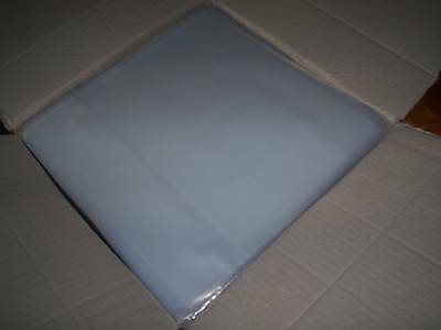 """1000 New Lp / 12"""" Plastic Outer Clarity Record Cover Sleeves + 200 Lp Inners"""