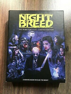 Nightbreed bluray screamfactory Limited Edition 3 Disc Box Set