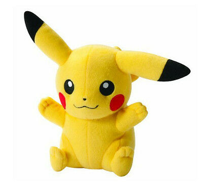 Japanese Anime POKEMON Pikachu Soft Plush Toy Kids Teddy Doll HOT Xmas Gift UK