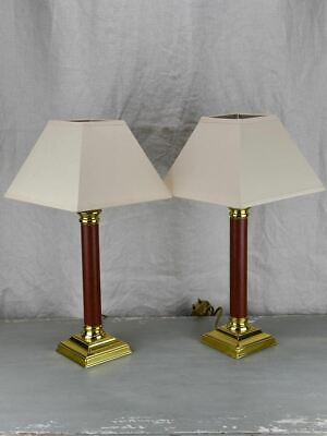Pair of vintage French Le Dauphin table lamps