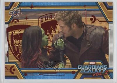 2017 Upper Deck Guardians of the Galaxy Volume 2 Red/49 #64 The True Villain 0g4