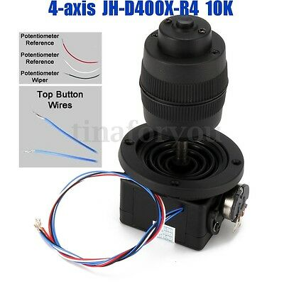 4-Axis Plastic Joystick Potentiometer Button For JH-D400X-R4 10K 4D with Wire  !