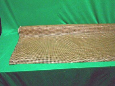 VINTAGE SPEAKER FABRIC GRILL CLOTH TUBE RADIO NEW OLD STOCK 15 inches x 22 in