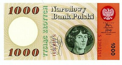 Poland ... P-141a ... 1000 Zlotych ... 1965 ... *UNC*