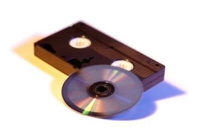 Video Tape To Dvd Transfer Service  (Free P+P.)8Mm Mini-D Vhs Camcorder