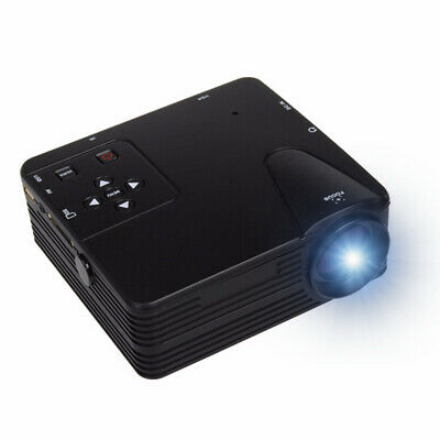 H80 Portable LED Projector 640x480 Pixels Supports Full HD 1080P LED Projector V
