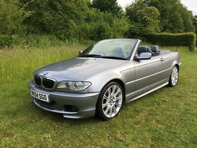 BMW 330ci M Sport Convertible Manual 2004 Face-lift - Low Miles - Only 4 Owners