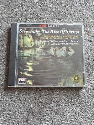 Stravinsky - The Rite of Spring -  CD YFVG The Cheap Fast Free Post The Cheap