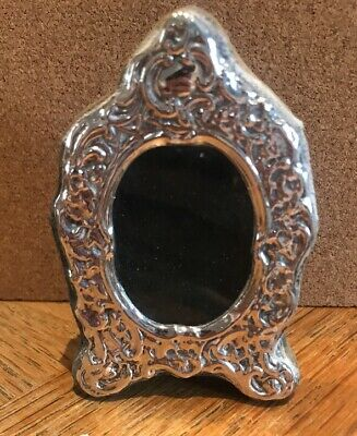 Beautiful Small 925 Sterling Silver Photo Frame Antique Miniature
