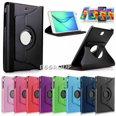 For Samsung Galaxy Tab S4 E 4 A S5e 7.0 8.0 10.1 10.5 Tablet Rotating Case Cover