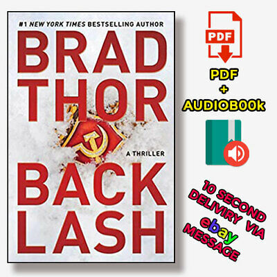 Backlash by Brad Thor. A Thriller 🔥Audio-book & P-D-F🔥