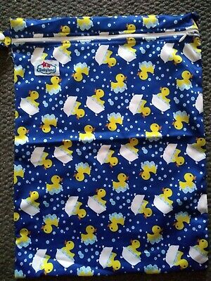 New Xl Waterproof Wet Bag Dry Zip Pouch Nappy Sanitary Towel Breast Pads Diaper