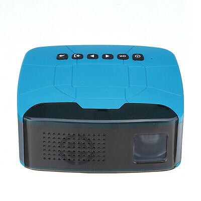 T200 Mini Portable Projector Support 1080P 500:1 Contrast Home Theater Projector