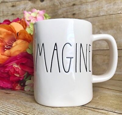 51a52061496 Rae Dunn IMAGINE Mug By Magenta Farmhouse Coffee Cup Spring Home Decor Gift