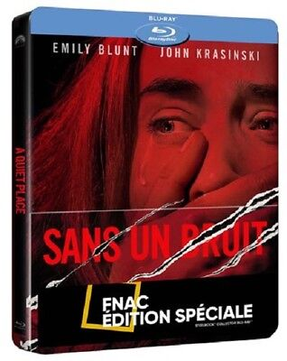 SANS UN BRUIT Steelbook Blu Ray Edition FNAC NEUF SOUS BLISTER