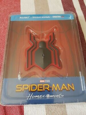 SPIDERMAN HOMECOMING Steelbook Blu Ray Edition FNAC NEUF SOUS BLISTER