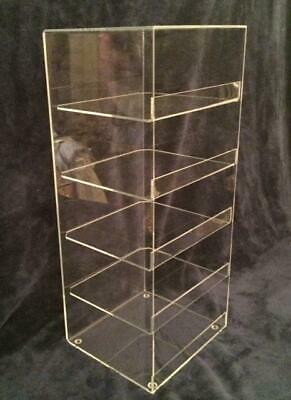 """Acrylic Convenience Store Counter Top Display Case 7""""x 6""""x 21"""" Display Box Clear"""